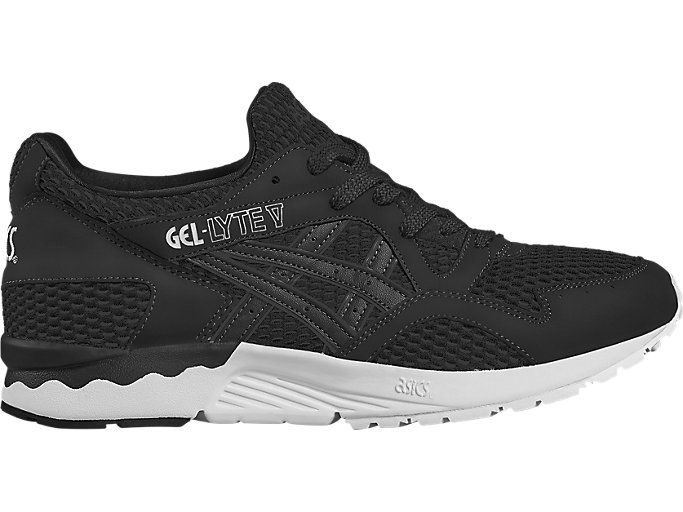Right side view of GEL-LYTE V, BLACK/BLACK
