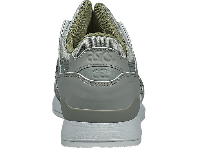 Back view of GEL-LYTE III, AGAVE GREEN/AGAVE GREEN
