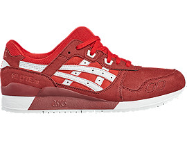 GEL-LYTE III, True Red/White
