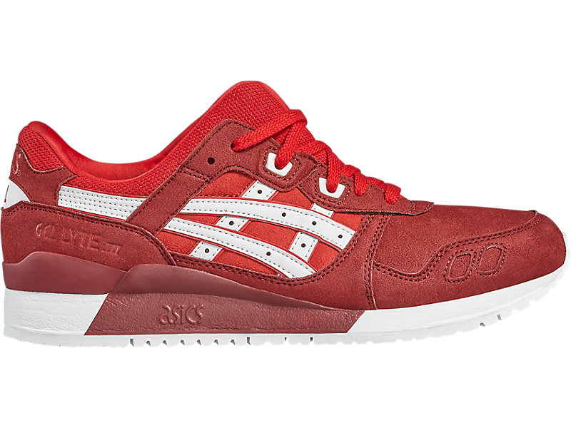 GEL-LYTE III TRUE RED/WHITE 1