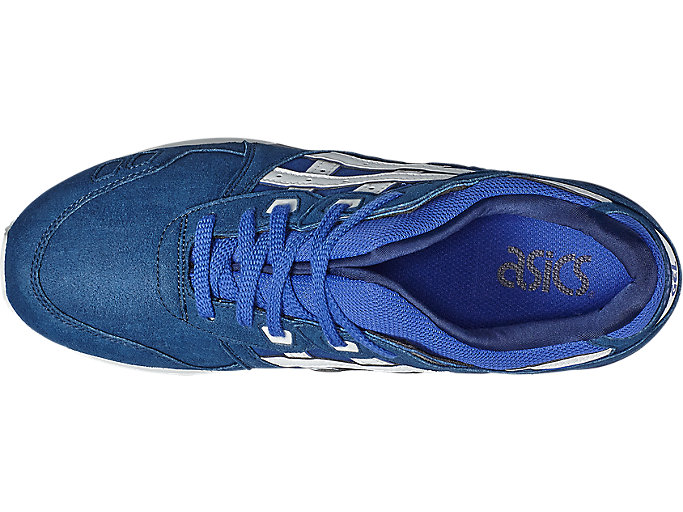 Top view of GEL-LYTE III, ASICS BLUE/WHITE