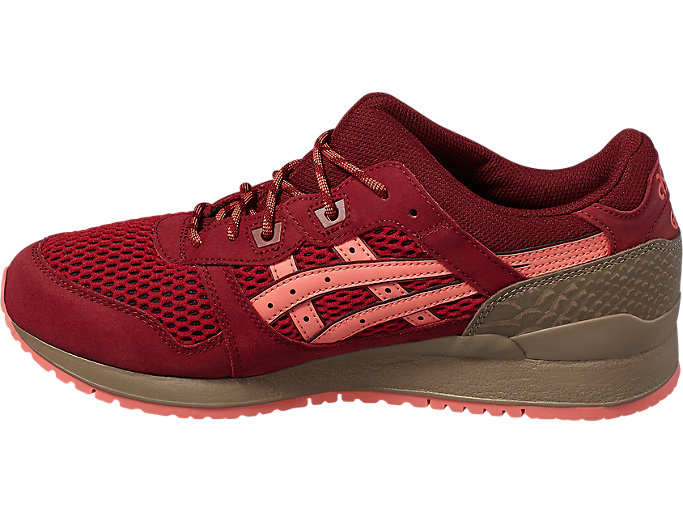 Left side view of GEL-LYTE III, OT RED/OT RED