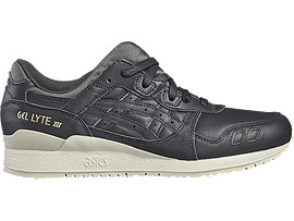 Right side view of GEL-LYTE III, DARK GREY/DARK GREY