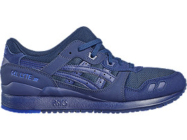 Right side view of GEL-LYTE III, INDIGO BLUE/INDIGO BLUE