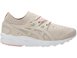 Right side view of GEL-KAYANO TRAINER KNIT, Birch/Birch