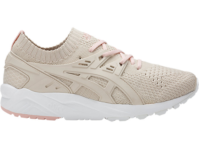 Right side view of GEL-KAYANO TR KNIT, BIRCH/BIRCH