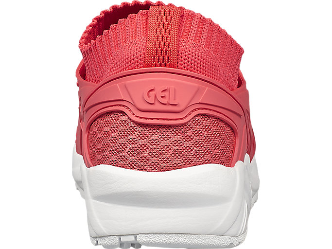 Back view of GEL-KAYANO TRAINER KNIT, PEACH/PEACH