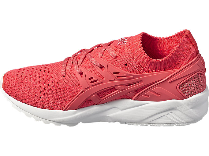 Left side view of GEL-KAYANO TRAINER KNIT, PEACH/PEACH