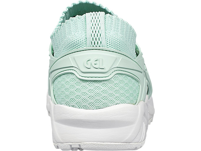 Back view of GEL-KAYANO TRAINER KNIT, BAY/BAY