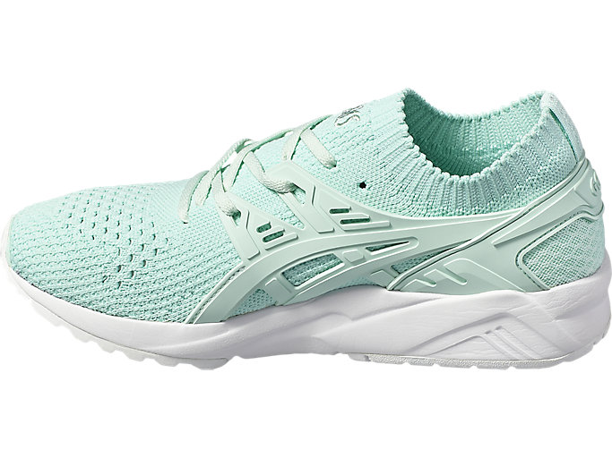 Left side view of GEL-KAYANO TRAINER KNIT, BAY/BAY