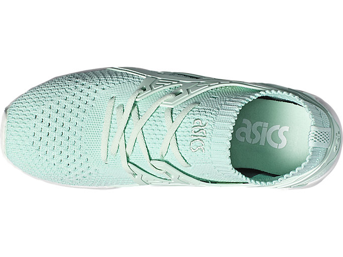 Top view of GEL-KAYANO TRAINER KNIT, BAY/BAY