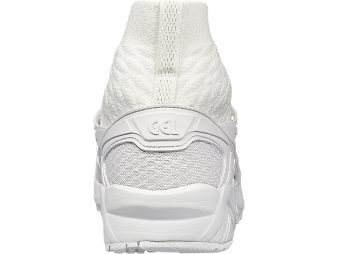 Back view of GEL- KAYANO TRAINER KNIT MT, WHITE/WHITE