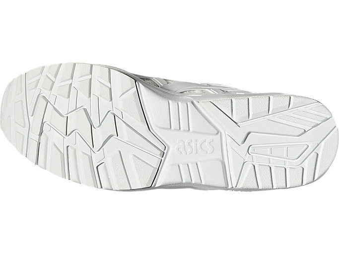 Bottom view of GEL- KAYANO TRAINER KNIT MT, WHITE/WHITE