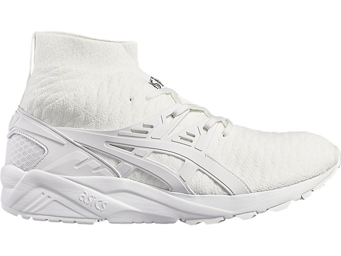 Right side view of GEL- KAYANO TRAINER KNIT MT, WHITE/WHITE