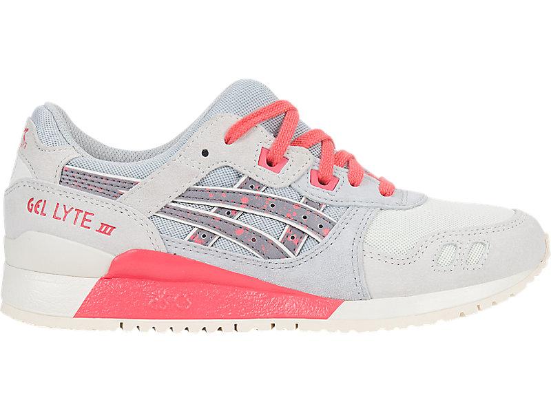 ASICS Tiger GEL-Lyte III Women's Running Shoes Glacier Grey/Peach