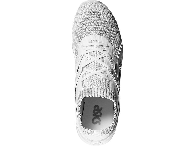 GEL-KAYANO TRAINER KNIT SILVER/WHITE 9
