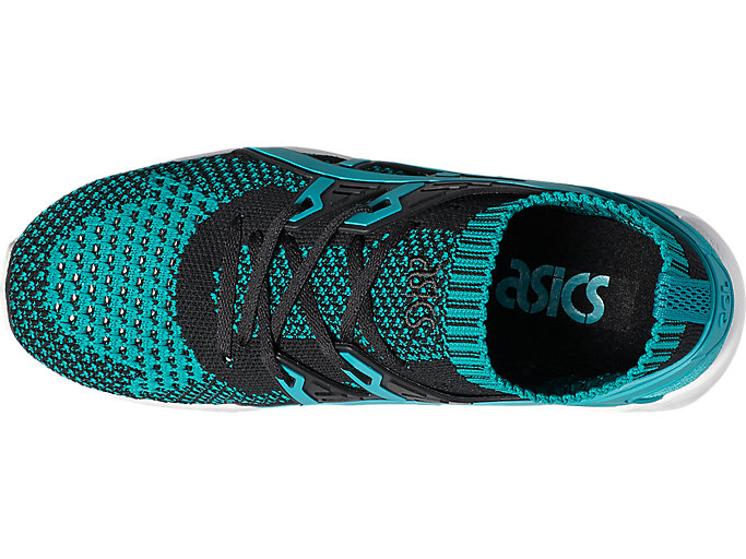 Top view of GEL-KAYANO TRAINER KNIT, VIRIDIAN GREEN /VIRIDIAN GREEN