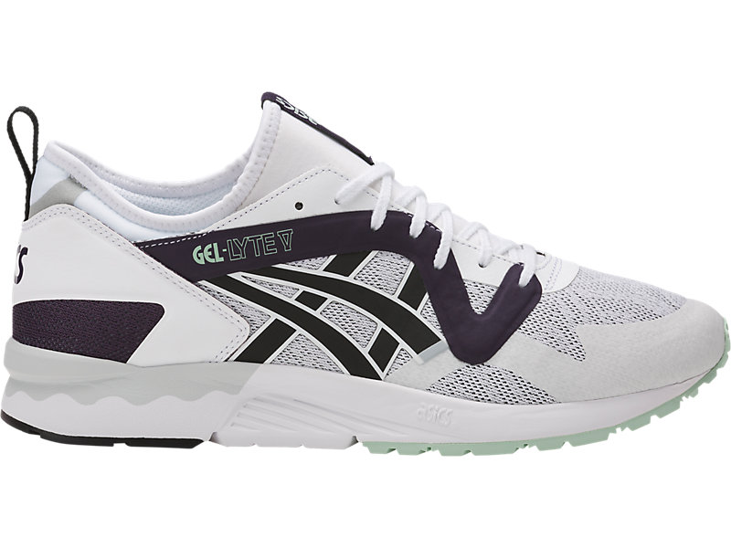 f4cc59ab00fd GEL-Lyte V NS White Black 1 RT