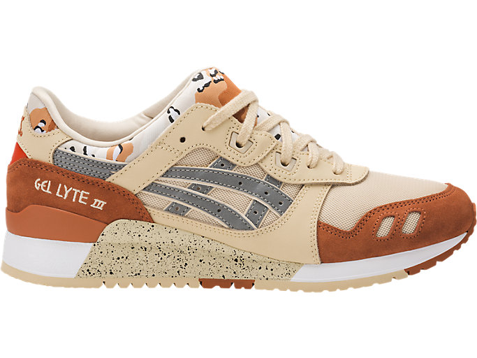Right side view of GEL-LYTE III, MARZIPAN/SILVER