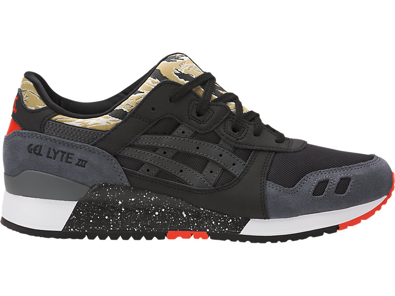 GEL-Lyte III Camo | Men | Black/Black | ASICS