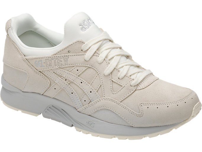 Front Right view of GEL-LYTE V, CREAM/CREAM