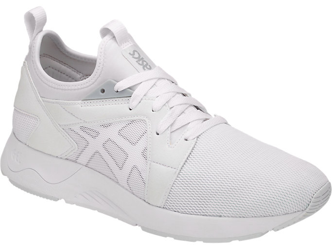 Front Right view of GEL-LYTE V RB, WHITE/WHITE