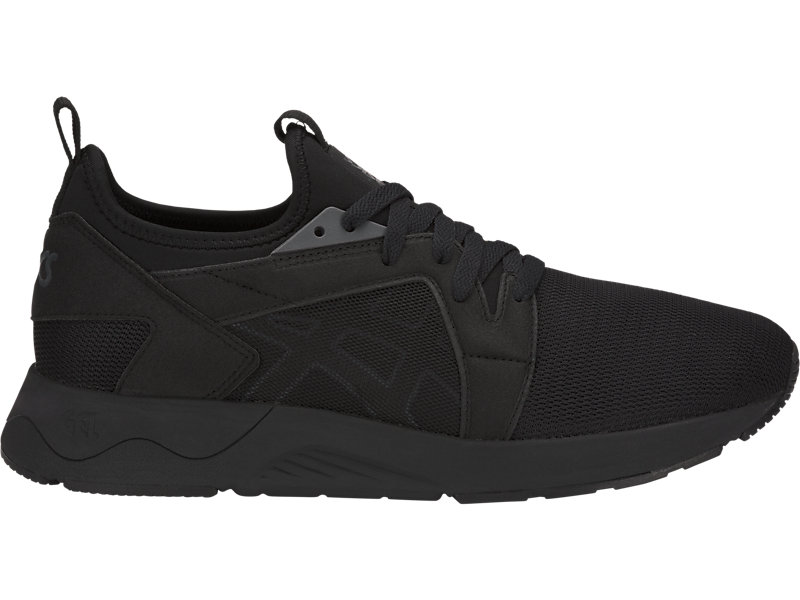 Asics Tiger Gel Lyte V RB Triple Black Men Running Shoes Sneakers H801L 9090