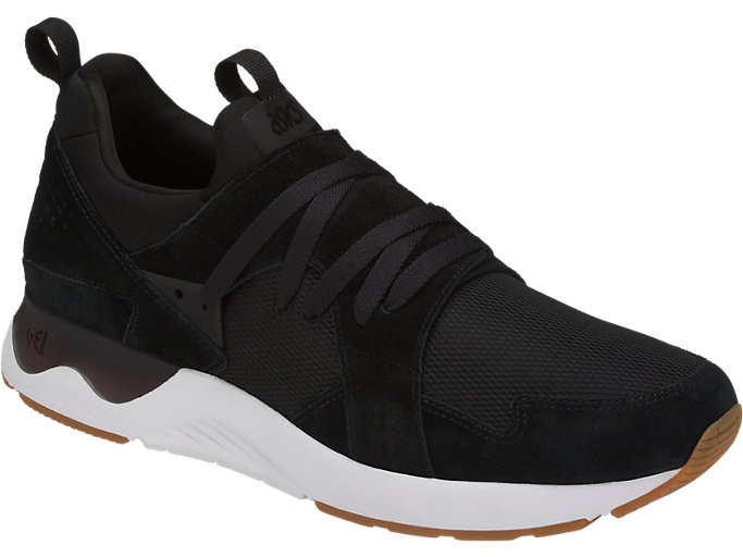 Front Right view of GEL-LYTE V SANZE TR, BLACK/BLACK