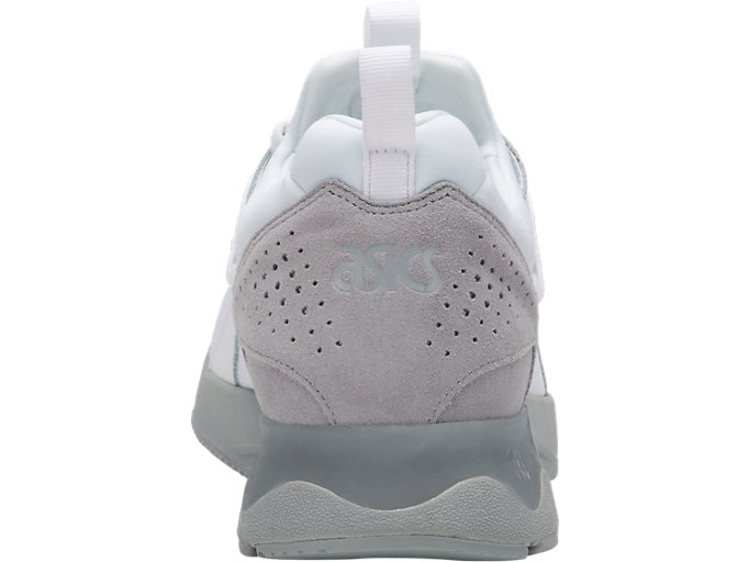 Back view of GEL-LYTE V SANZE, WHITE/MID GREY