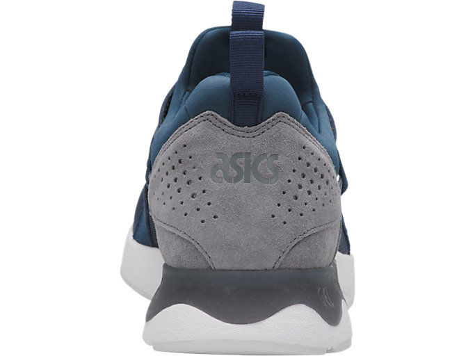 Back view of GEL-LYTE V SANZE, Dark Blue/Stone Grey
