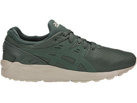 Right side view of GEL-KAYANO TRAINER EVO, DARK FOREST/DARK FOREST