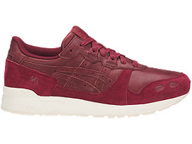 Right side view of GEL-LYTE, BURGUNDY/BURGUNDY