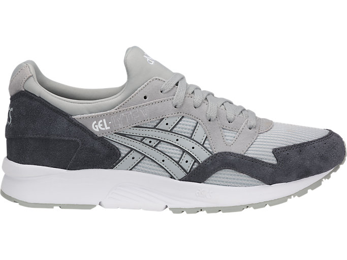 Right side view of GEL-KAYANO TRAINER EVO, GLACIER GREY/GLACIER GREY