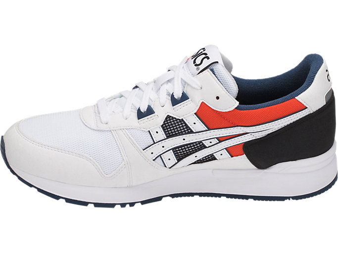 Left side view of GEL-LYTE, WHITE/WHITE
