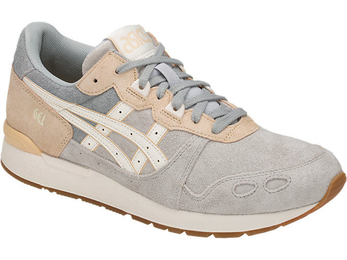 Front Right view of GEL-LYTE, GLACIER GREY/CREAM