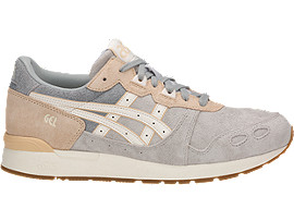 Right side view of GEL-LYTE, GLACIER GREY/CREAM