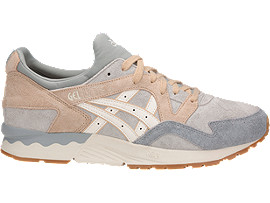 Right side view of GEL-LYTE V, GLACIER GREY/CREAM