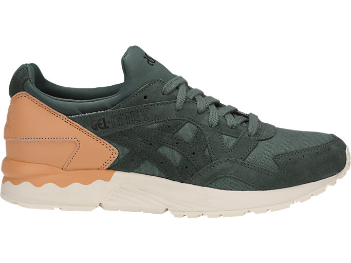 Right side view of GEL-LYTE V, DARK FOREST/DARK FOREST