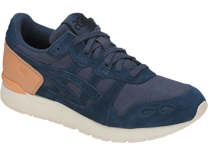 Front Right view of GEL-LYTE, DARK BLUE/DARK BLUE