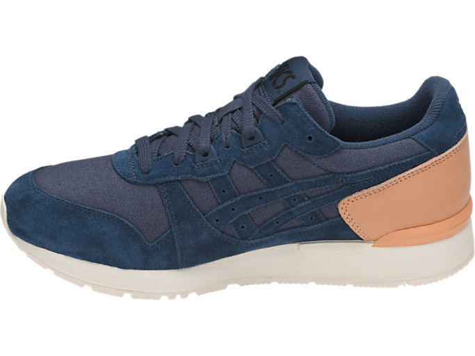 Left side view of GEL-LYTE, DARK BLUE/DARK BLUE