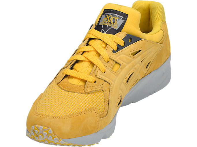 Front Left view of GEL-DS TRAINER OG, TAI-CHI YELLOW/TAI-CHI YELLOW