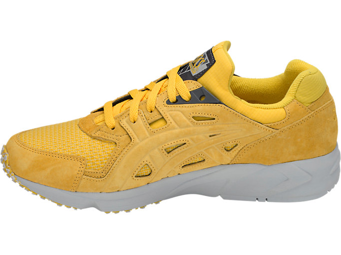 Left side view of GEL-DS TRAINER OG, TAI-CHI YELLOW/TAI-CHI YELLOW