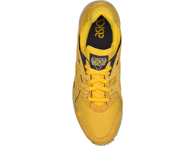 Top view of GEL-DS TRAINER OG, TAI-CHI YELLOW/TAI-CHI YELLOW