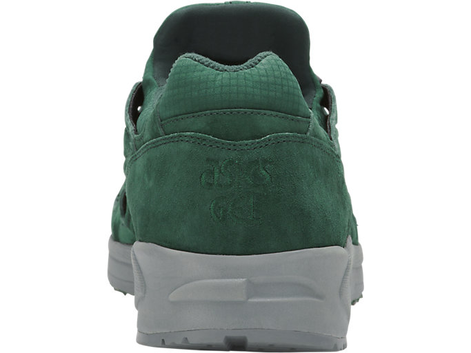 Back view of GEL-DS TRAINER OG, HUNTER GREEN/HUNTER GREEN