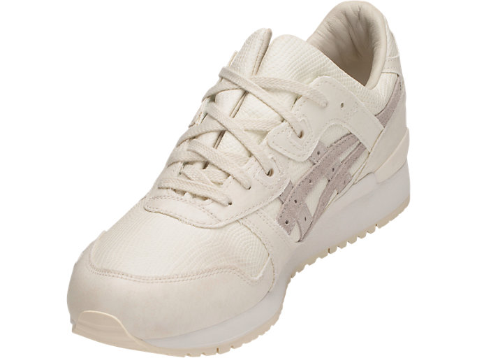 Front Left view of GEL-LYTE III, OFF WHITE/OFF WHITE