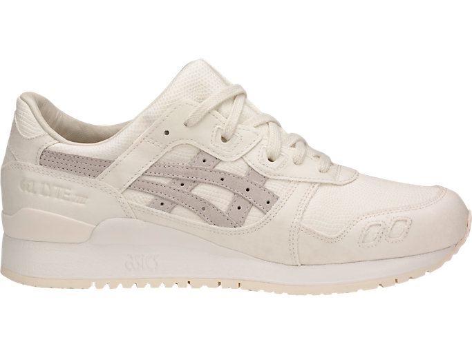 Right side view of GEL-LYTE III, OFF WHITE/OFF WHITE