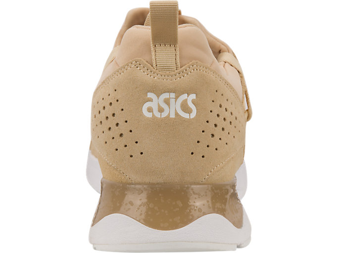 Back view of GEL-LYTE V SANZE, White/Marzipan