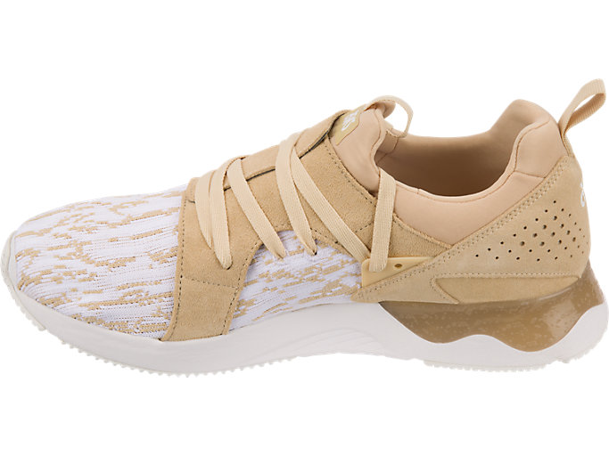 Left side view of GEL-LYTE V SANZE, White/Marzipan