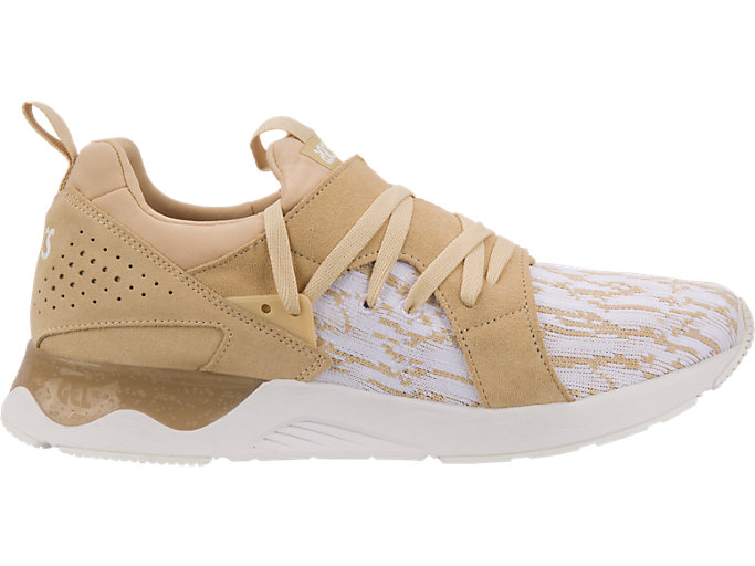 Right side view of GEL-LYTE V SANZE, White/Marzipan