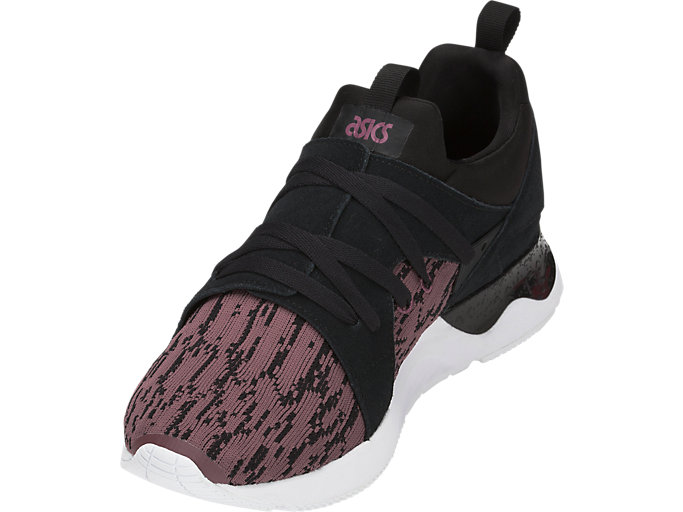 Front Left view of GEL-LYTE V SANZE, Rose Taupe/Black